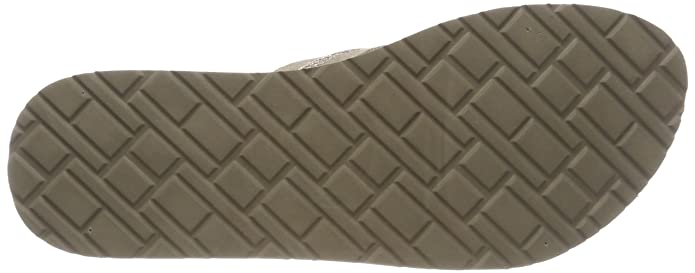 Metallic Mid Beach Sandal, Chanclas para Mujer, Beige (Cobblestone 068), 39 EU Tommy Hilfiger