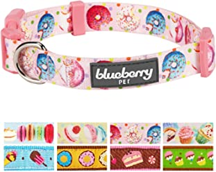 Blueberry Pet 8 Patterns Summer Party Ideas Sweet Desserts Treats Collection & Personalized Dog Collar