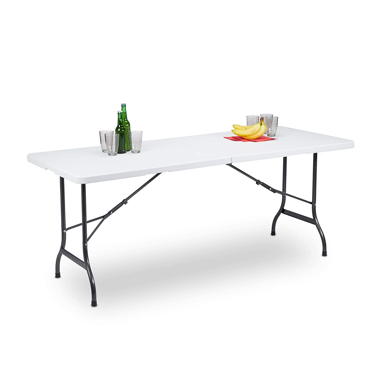 Europe Best Price Furniture Q70 Tavolo Alluminio Top 70x70 Gamba Centrale Top Impermeabile con Base Rinforzata