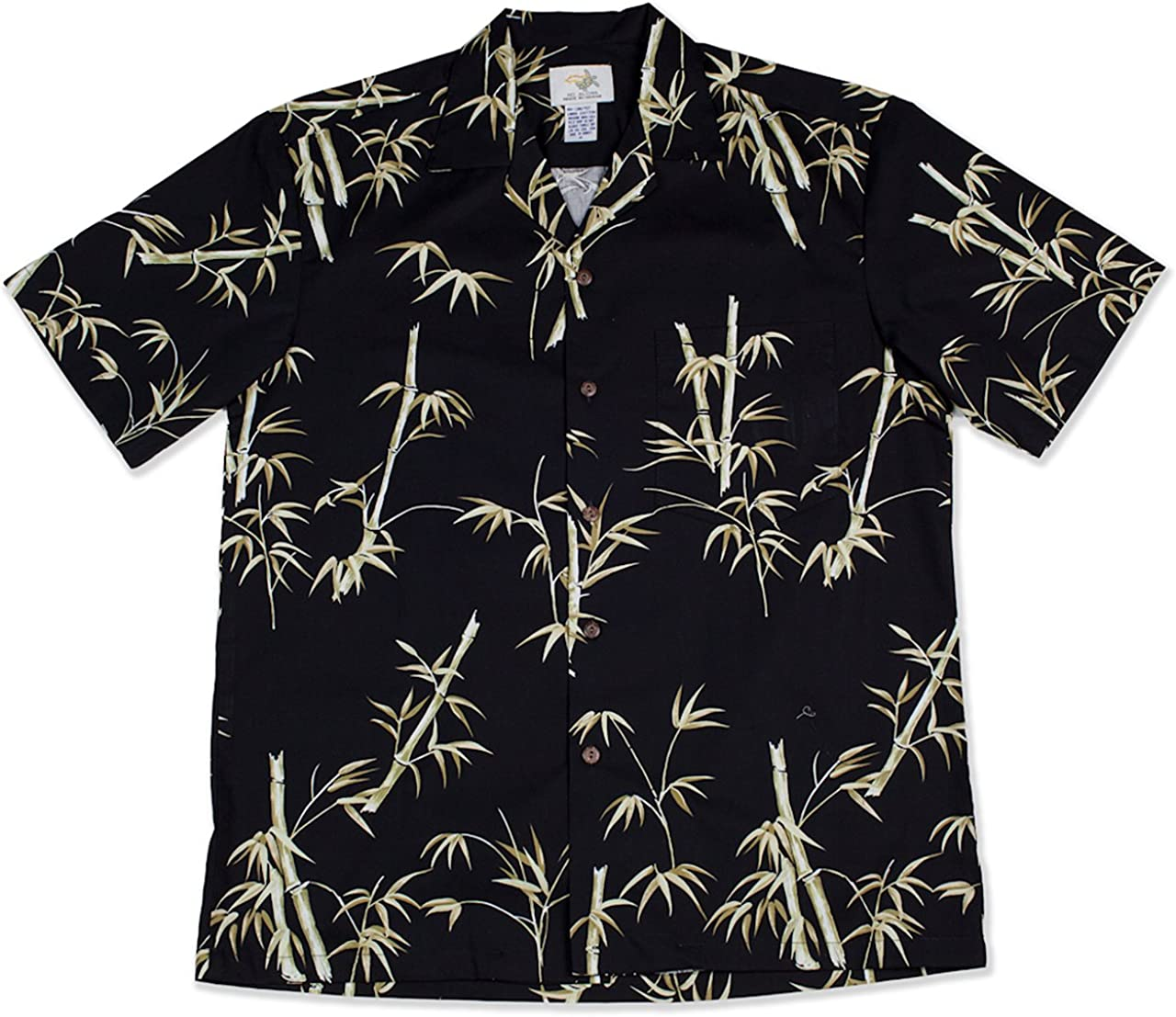 Two Palms Made in Hawaii Men's Bamboo Aloha Shirt