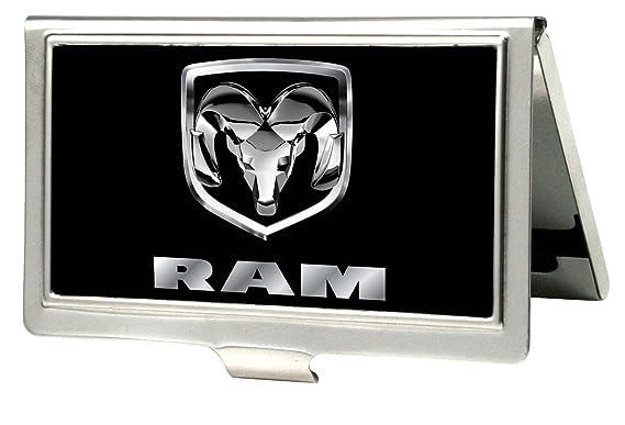 Automotive Dodge Ram Logo Sur Fond Noir En Metal Multi Usage Avec Porte Cartes De Visite Amazonfr Fournitures Bureau