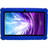 Transwon 7 Inch Kids Case for JYJ 7 Inch Android Google Tablet PC, BTC UK QUAD CORE 7, Dragon Touch Y88X Plus, Alldaymall A88X, Haehne MiniPad 7, iRULU eXpro X1S 7, Adspec AdTab 7 Lite - Navy Blue