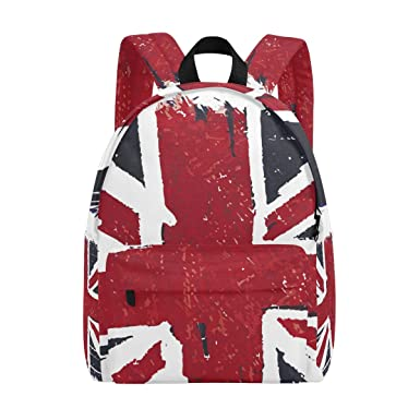 Image Unavailable. Image not available for. Color  ALAZA Flag Of United  Kingdom Britain UK Lightweight School backpack For Teenagers Boys Girls 3d0f4f257df77