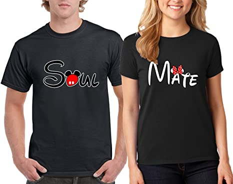 Amazon Com H T Shirt Valentine S Day Special Soul Mate Lovely