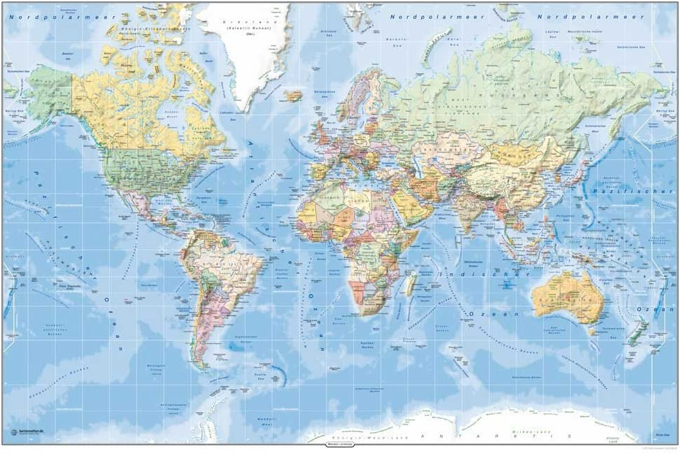 Empire - Mapamundi político: Amazon.es: Hogar