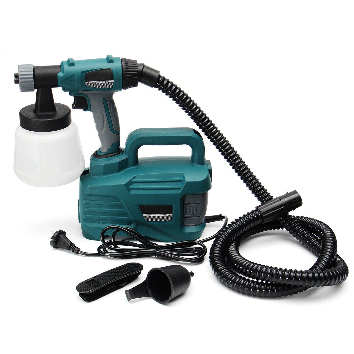 800W 900ML Electric Painter Gun Spray Latex Paint Sprayer House Painting Machine by Ologymart (Image #5)