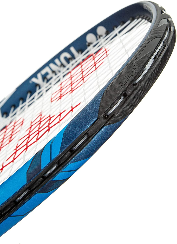 "YONEX EZONE ACE Deep Blue Tennis Racquet, 4 1/4"" Grip : Sports & Outdoors"