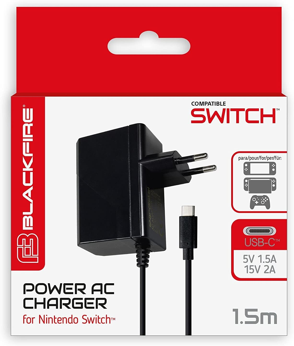Ardistel - AC Adaptador (Nintendo Switch): Amazon.es: Videojuegos