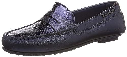 Tommy Hilfiger Snake Pattern Moccasin, Mocasines para Mujer: Amazon.es: Zapatos y complementos