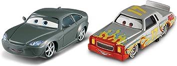Cars 2 - Pack de 2 Coches, Bob Cutlass y Darrell Cartrip (Mattel Y0513): Amazon.es: Juguetes y juegos