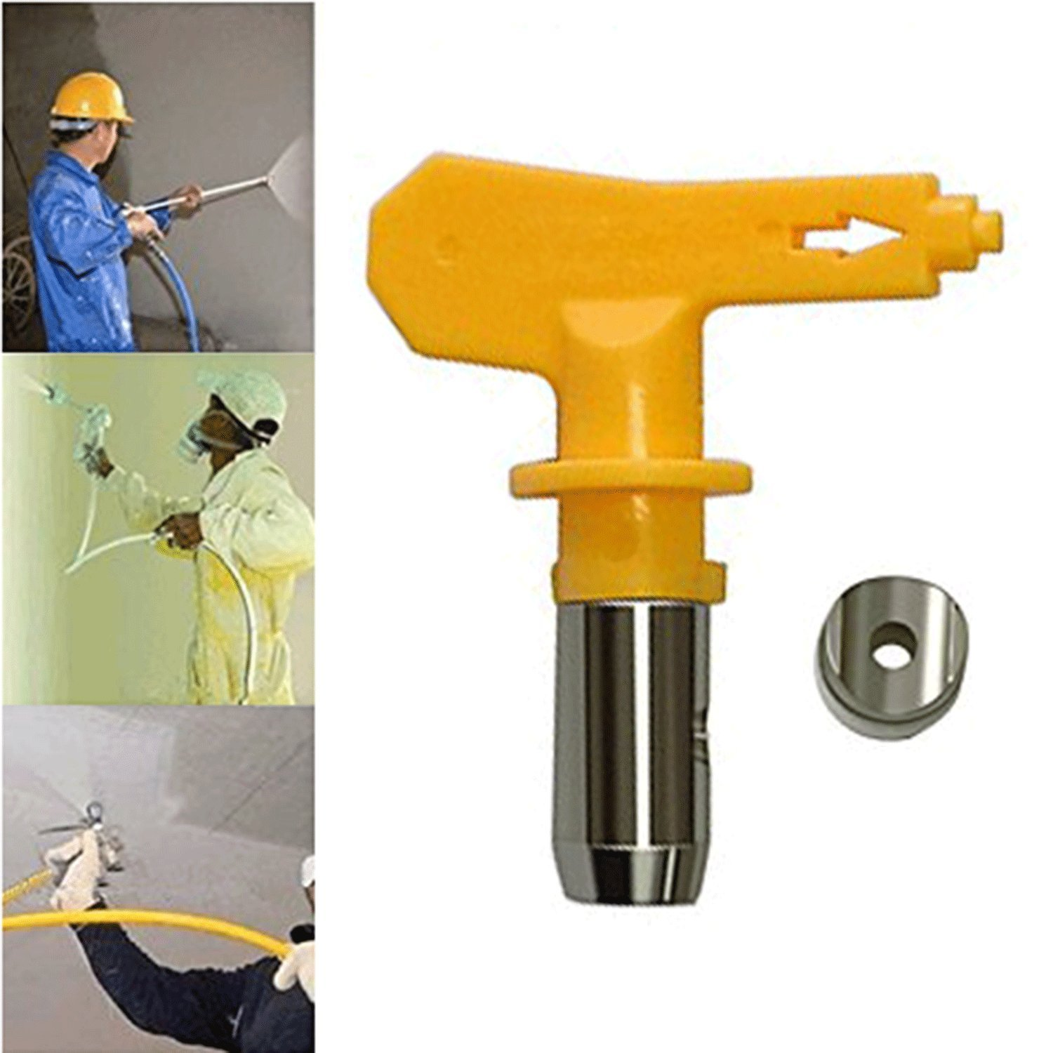JWGJW Airless Spray Tip For Airless Spray Gun And Paint Sprayer Nozzle (517)