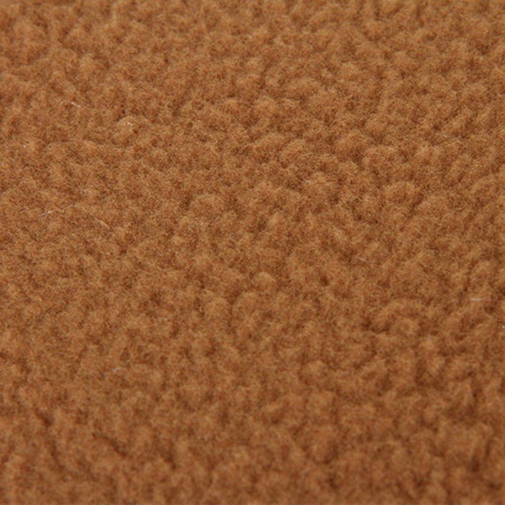 Amazon.com : UEETEK Soft Warm Dog Cat Cave Bed House Cotton Plush Pet Sleeping Bag Size L Light Brown : Pet Supplies