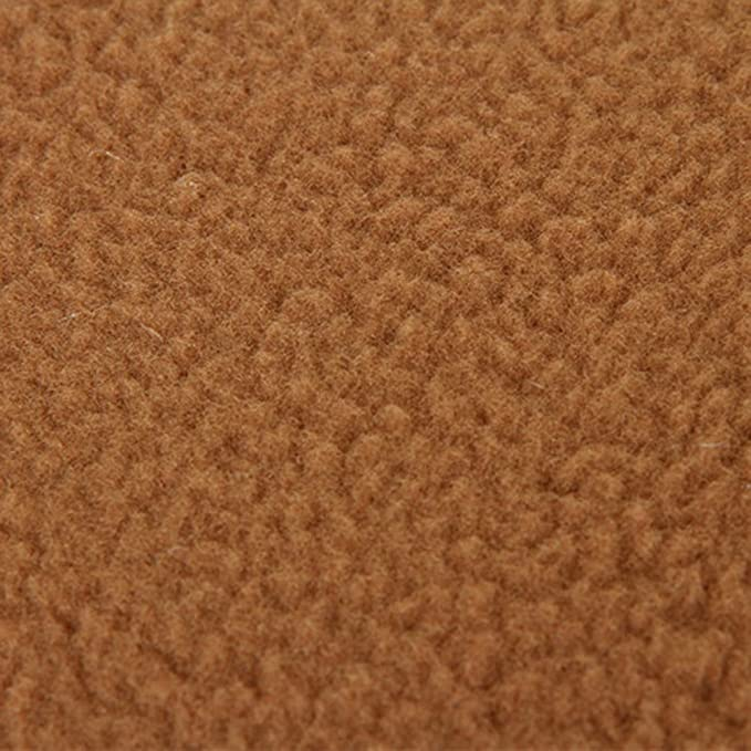 Amazon.com : UEETEK Soft Warm Dog Cat Cave Bed House Cotton Plush Pet Sleeping Bag Size S Light Brown : Pet Supplies