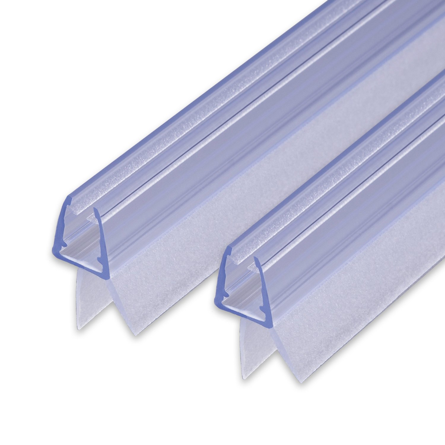 #S1001 splash guard for shower cabin shower seal water deflector 7 and 8 mm glass thickness Replacement seal with sealing pipe for 6