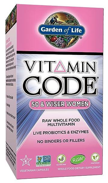 Amazoncom Garden of Life Multivitamin for Women Vitamin Code