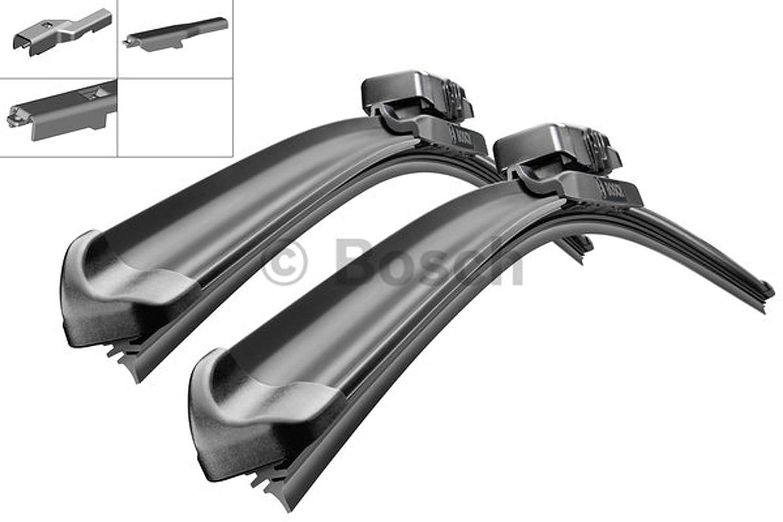 Bosch Aerotwin AM466S 3397007466 Limpiaparabrisas 650/380 + 2 x Gelan para limpiaparabrisas, - Set [fop del paquete]: Amazon.es: Coche y moto
