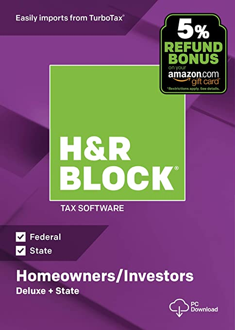 Delux Federal E-file H&r Block At Home 2010 At Any Cost cd-rom