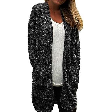 41aa37ae01c4 ZOMUSA Hot Sale Women Autumn Winter Long Sleeve Loose Casual Striped  Sweater Cardigan Coat