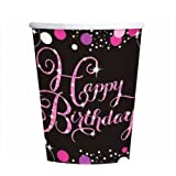 Amscan 9900573266ml Celebration Happy Birthday Papier Cup