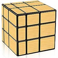 D-FantiX Shengshou Mirror Cube 3x3 Speed Cube Gold Mirror Blocks Puzzle