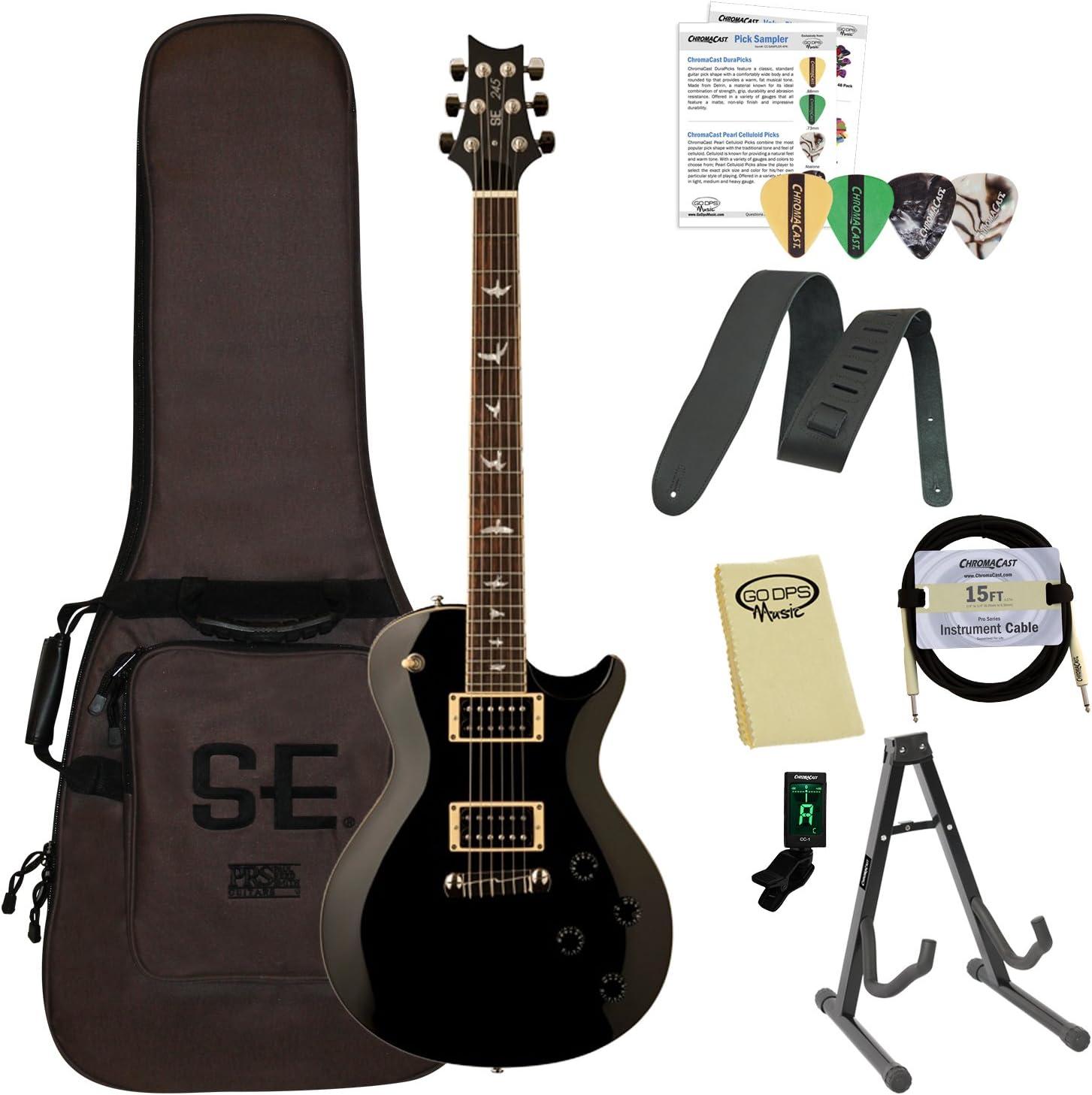 Paul Reed Smith guitarras 245stbk-kit01 PRS SE 245 Standard negro ...