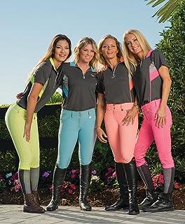 d425c2fc Amazon.com : Gamehide Ladies Wilderness Camo Tipped Black Polo Shirt ...