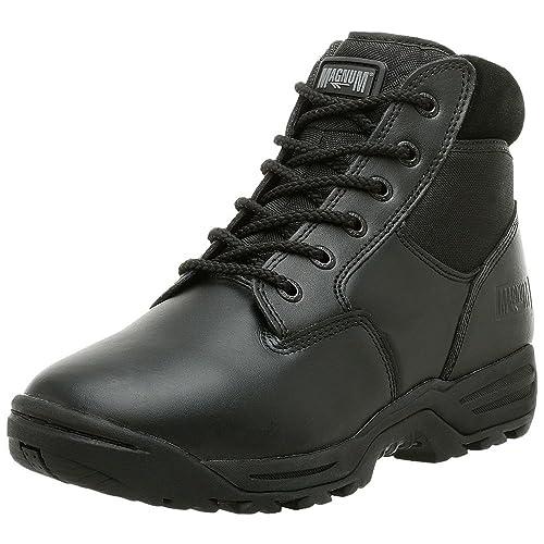 HiTec Magnum Midnite Plus II Tactical Combat Work Boots Black Leather UK  3 5