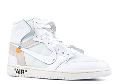 e8dd6936836aca Image Unavailable. Image not available for. Color  Air Jordan 1 x OFF-WHITE  ...