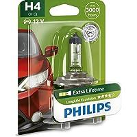 Philips 12342LLECOB1 LongLife EcoVision - Bombilla H4