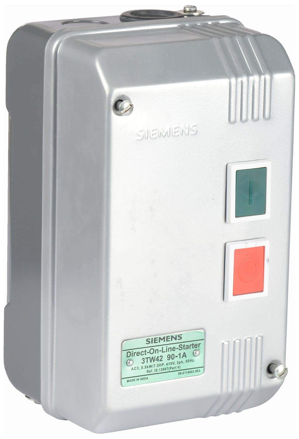Buy Siemens Plastic Direct On Line Starter White And Black Online Star Delta 3phase Motor Automatic With Timer At Low Prices In India
