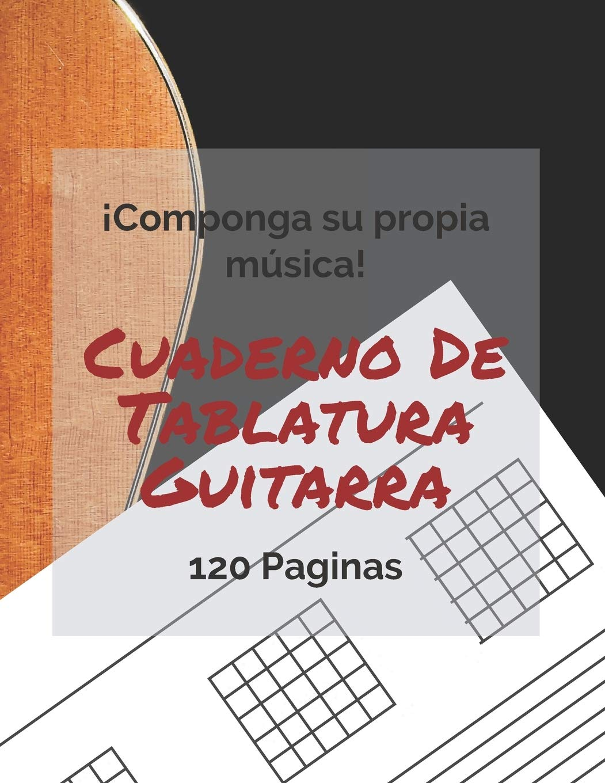 Cuaderno De Tablatura Guitarra: 120 Paginas: Amazon.es: Publishing ...