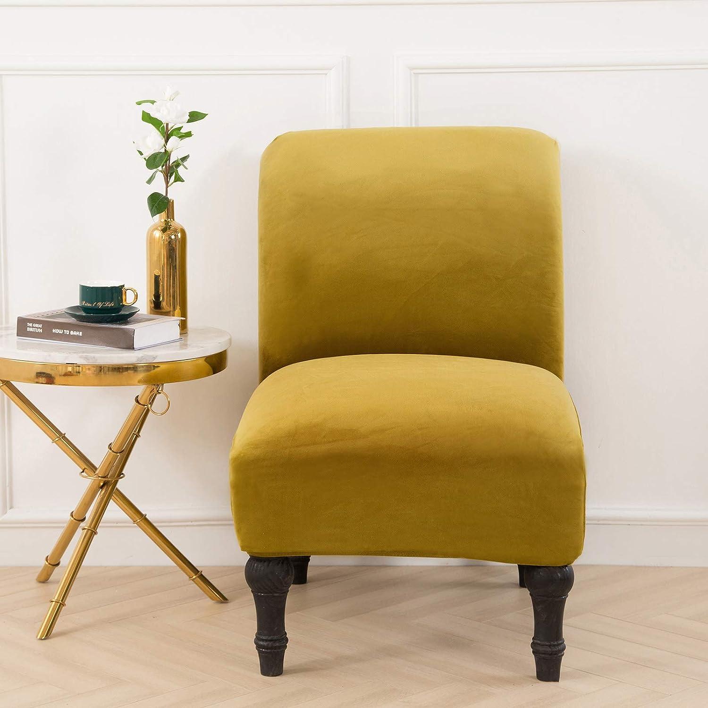 Stretchy Wing Armchair Covers Abnehmbarer Universal Chair Slipcover M/öbelschutz-Orange HKPLDE Ohrensessel Schonbez/üge