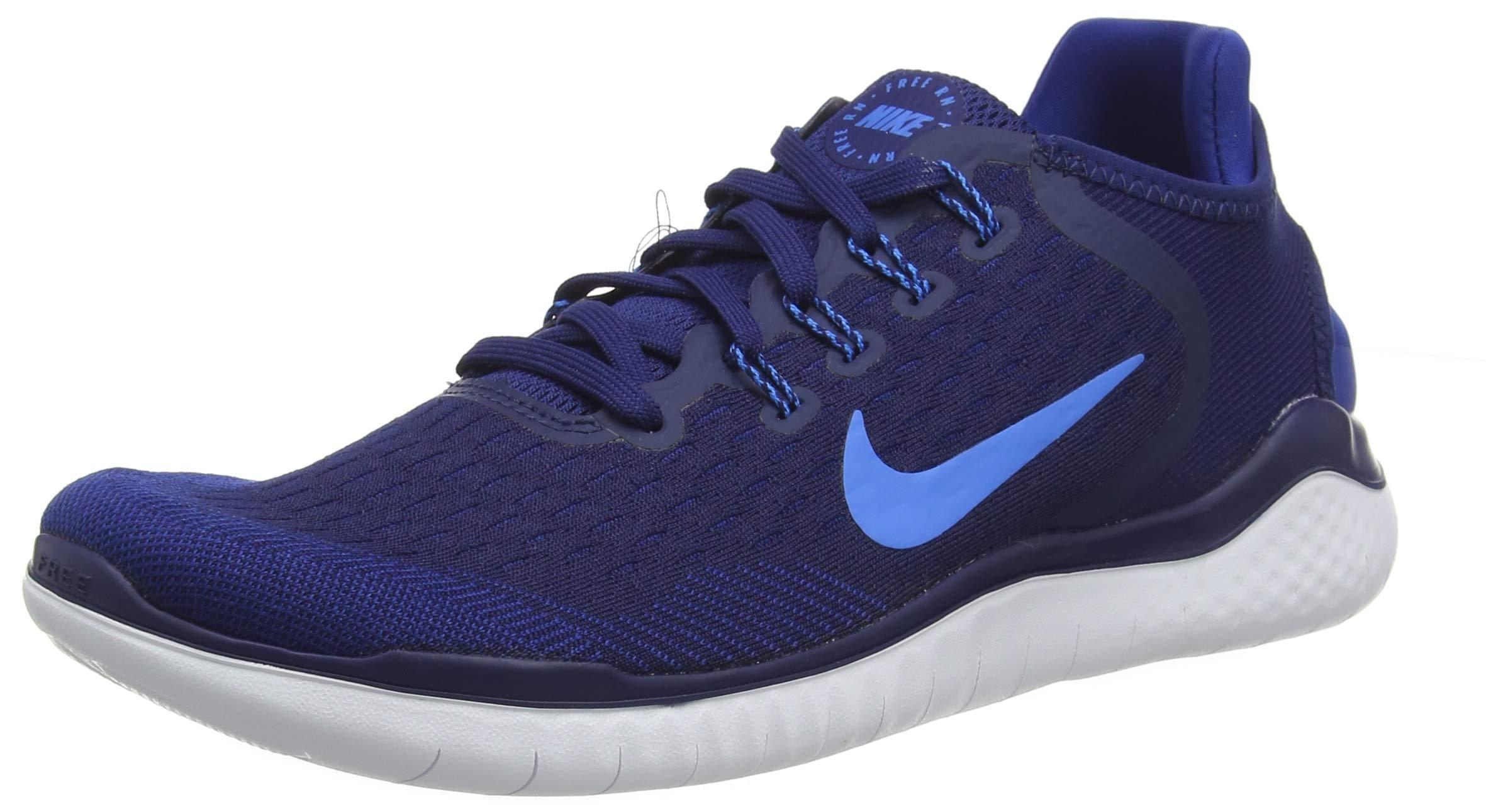 Nike Men's Free RN 2018 Running Shoe Blue