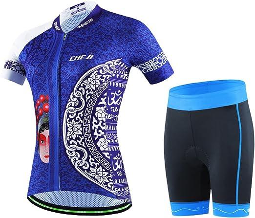 Amur Leopard Enfant Maillot de Cyclisme Shirts Manches Courtes