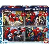 Educa - 15642 - Puzzle - Multi 4 en 1 - Ultimate Spider-Man