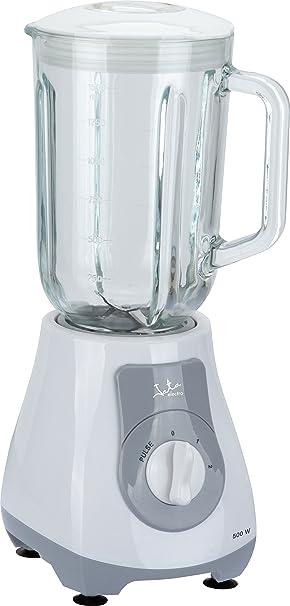 Jata - Batidora batidora vaso cristal 1,5l. bt262 blanco: Amazon.es: Hogar