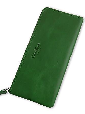 7b889c0a209d Dom Teporna Italy Lファスナー ウォレット 本革 イタリアンレザー 薄い 長財布 大容量なのに