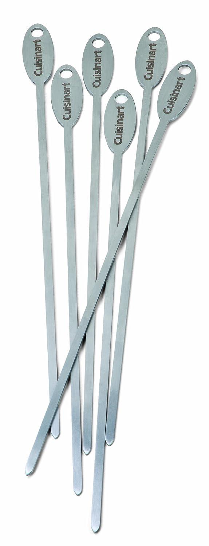 Cuisinart CSKS-166 Stainless Steel Skewers, Set of 6