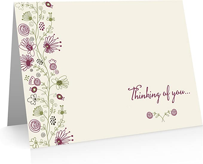 Get Well Card Encouragement Card Thinking of You Sympathy All Occasion Card Miss You Card Friendship Card Birthday Card Hello Card