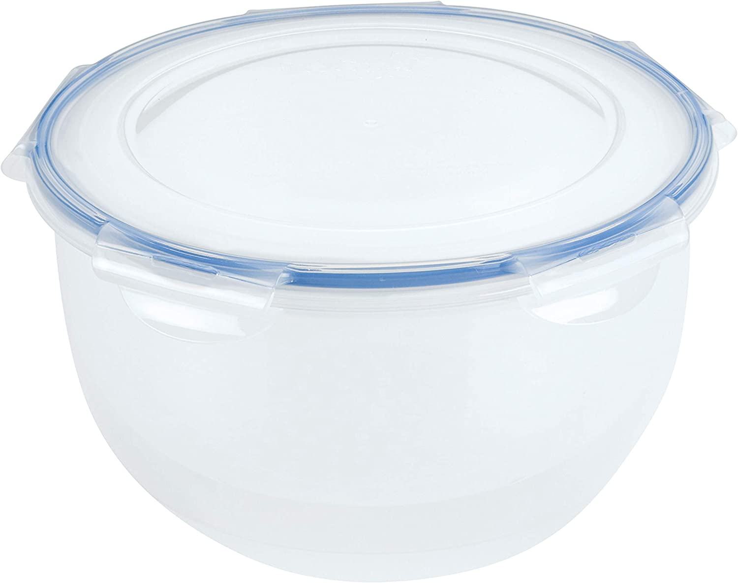 LOCK & LOCK Easy Essentials Food Storage lids/Airtight containers, BPA Free, Salad Bowl-16.9 Cup, Clear