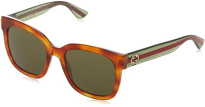 e510c9ef5d8 Gucci Men S Gg0107S Gg0107S 001 56 Rectangular Sunglasses 56