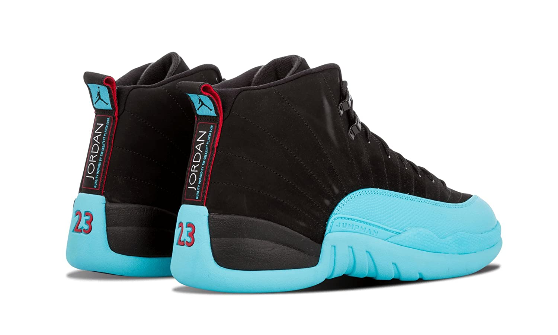f8b5c11199ce55 ... basketball shoes sports sneakers 4ae93 3963a  australia amazon nike  mens air jordan 12 retro gamma blue black gym red gamma blue leather