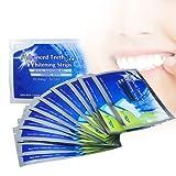 Zähne Aufhellen, Zahnaufhellung Weiße Zähne, iFanze 28 Bleaching Stripes - Schmerzfrei - 30 Minuten pro Tag, Weißes Lächeln nach 14 Tagen genießen