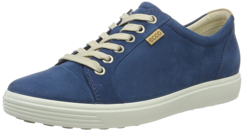 Ecco Damen Soft 7 Turnschuhe Blau (2269 Posidon) 40 EU