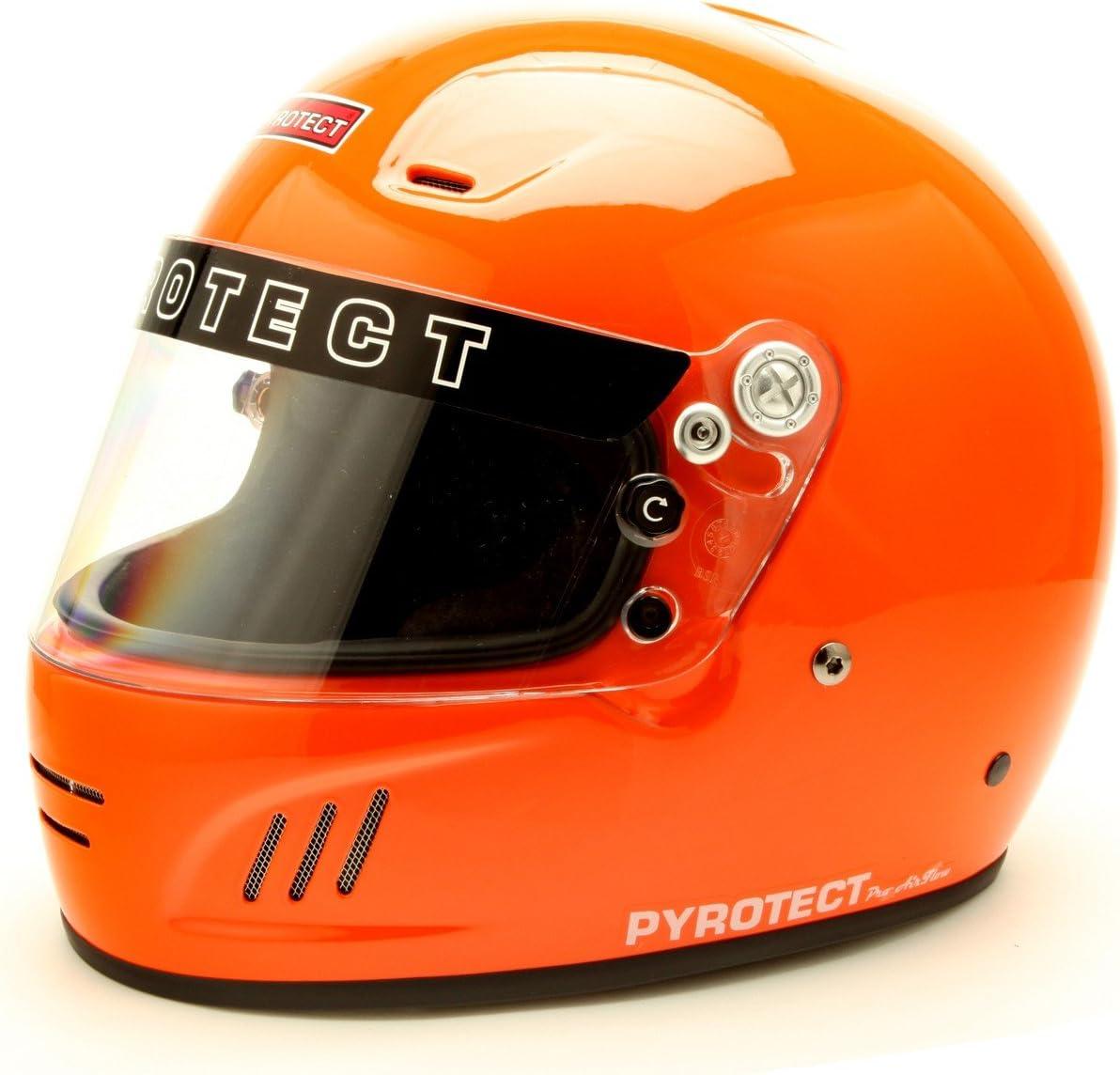 Pyrotect Helmet-Pro Airflow Full Face-Orange XXXL-9097005-SA2010