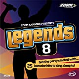Zoom Karaoke CD+G - Legends Volume 8 - Beatles/Rolling Stones/Small Faces/Animals/Troggs [Card Walle