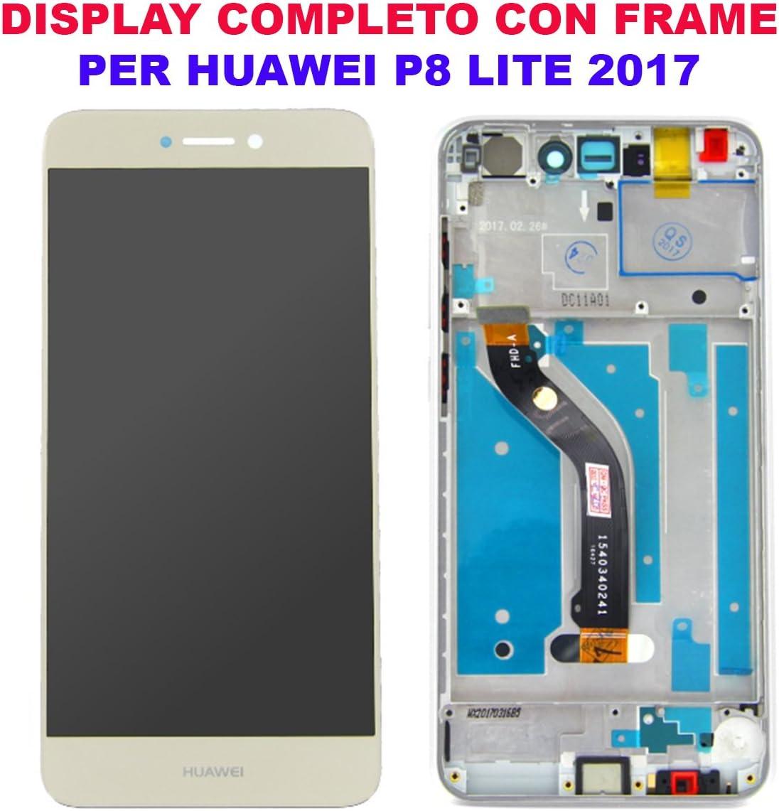 Cristal Pantalla Pantalla LCD Touch Screen Huawei P8 Lite 2017 ...