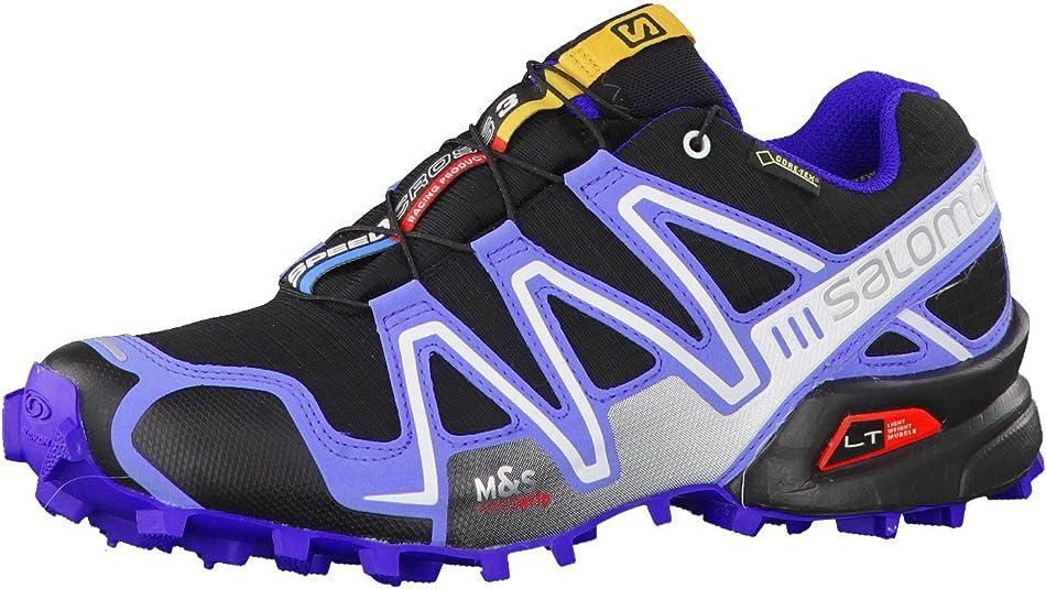 SALOMON Damen Speedcross 3 Traillaufschuhe, blau, 42 EU