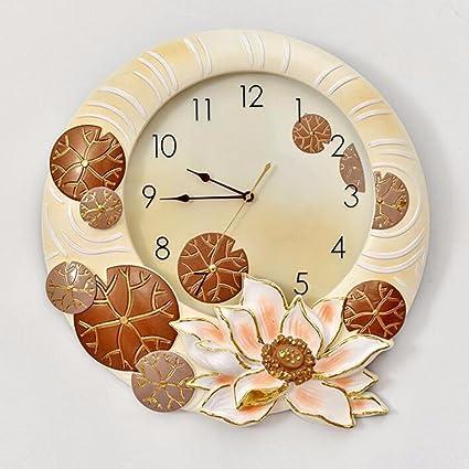 WERLM Diseño personalizado decorativos para el hogar reloj de pared Reloj de pared Reloj de arte
