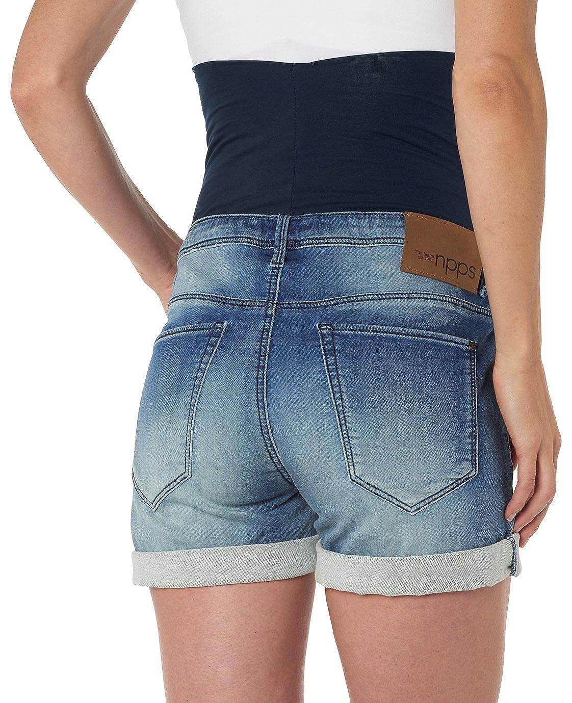 Noppies Damen Umstands Shorts denim OTB Jazz